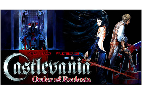 Castlevania: Order of Ecclesia - ds - Walkthrough and ...