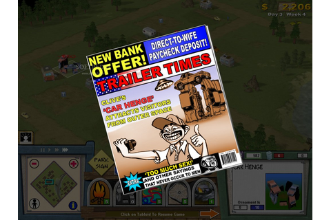 Trailer Park Tycoon - Buy and download on GamersGate