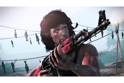 Rambo The Video Game Machine of War Trailer - YouTube