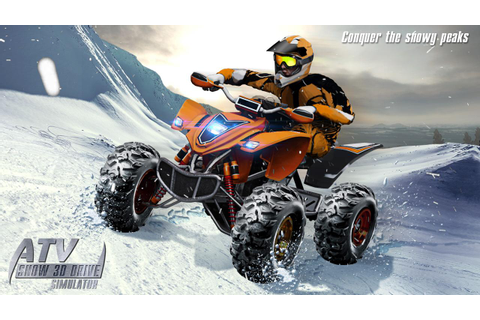 ATV Snow 3D Drive Simulator - Android Apps on Google Play