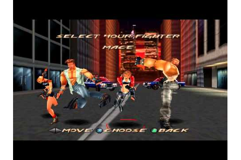 Fighting Force (PS1) Funny Glitch/Hack - YouTube