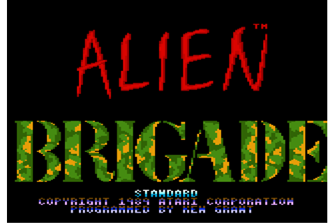 Play Alien Brigade Atari 7800 online | Play retro games ...