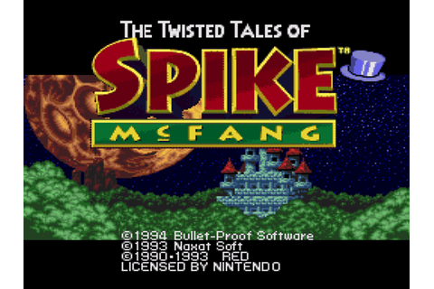 Twisted Tales of Spike McFang Download Game | GameFabrique