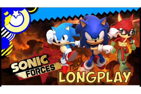 SONIC FORCES - LONGPLAY (FULL Game & Cutscenes) - YouTube