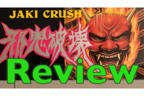 DBPG: Jaki Crush Review (Super Famicom) - YouTube