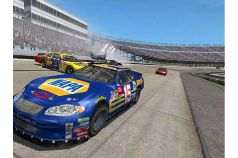 Screenshots: NASCAR Thunder 2004