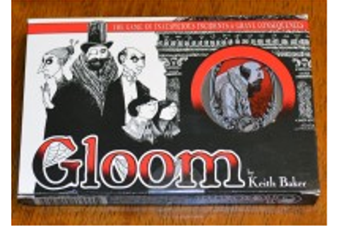 The Board Game Family Gloom card game review - The Board ...