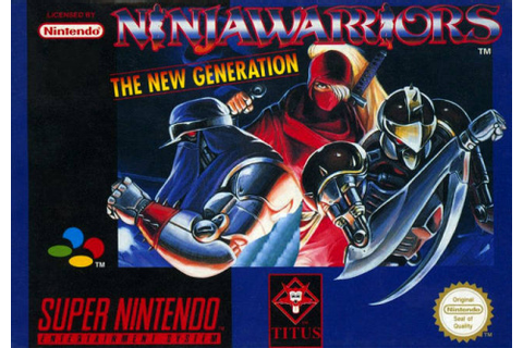 Ninja Warriors : The New Generation sur Super Nintendo ...