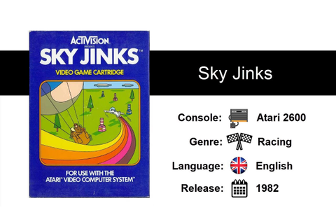 Sky Jinks (1982) - Atari 2600 - YouTube