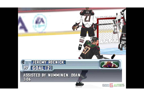 NHL 2001 - Gameplay PSX (PS One) HD 720P (Playstation ...