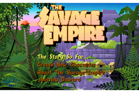 Worlds of Ultima: The Savage Empire (1990) by Origin MS ...