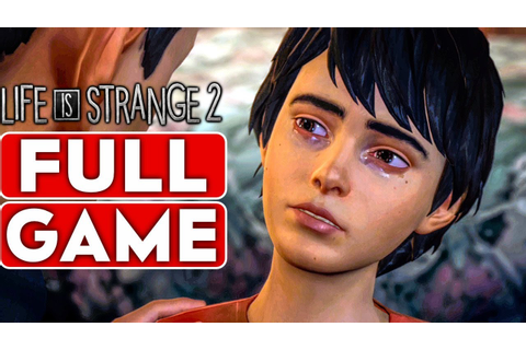 LIFE IS STRANGE 2 Gameplay Walkthrough Part 1 FULL GAME ...