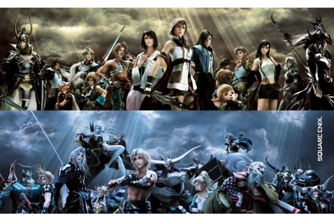 Dissidia Final Fantasy vs. Dissidia Final Fantasy NT: What ...