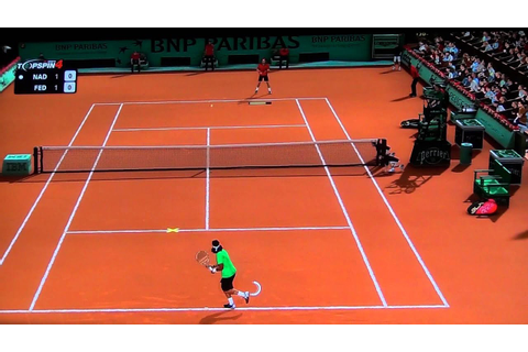 Top Spin 4 Gameplay Nadal V/S Federer(AI : Very Hard) (PS3 ...