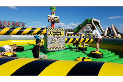 Smack Amusements - Meltdown Inflatable Game Hire BRISBANE ...