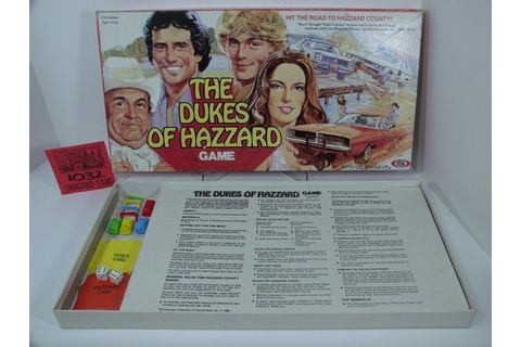 Items similar to 1980's Dukes of Hazzard Board Game on Etsy