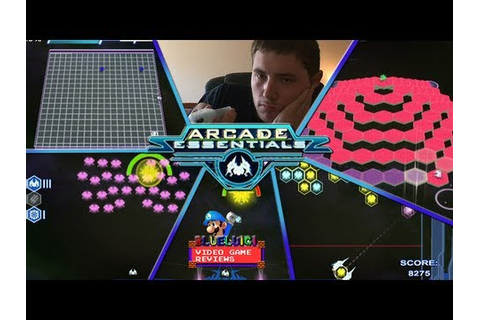 Arcade Essentials (Wiiware) - Blueluigi Video Game Reviews ...