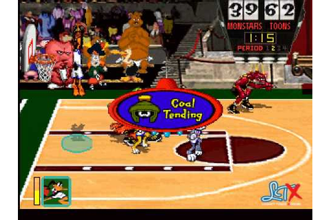 Space Jam (Video Game) 2nd Quarter - YouTube