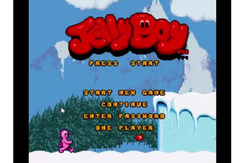 Jelly Boy (SNES Gameplay) - YouTube