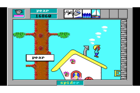 Word Rescue 2 (1992) [PC] - Level 14 - The Hill Houses ...