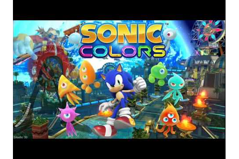 Sonic Colors Music - Blue Cube Wisp - YouTube