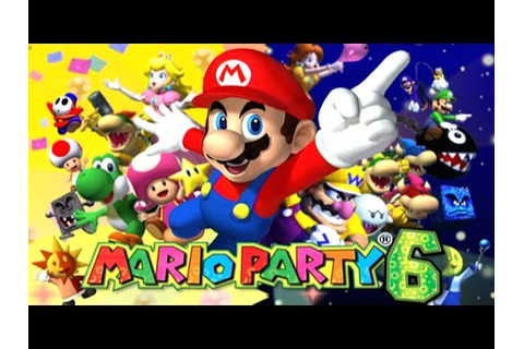 Gamecube Month - Let's Play: Mario Party 6 - YouTube