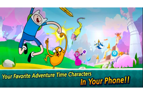 Adventure Time Run Android Gameplay ᴴᴰ - YouTube