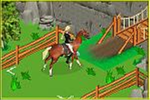 Barbie Horse Adventures: Blue Ribbon Race - GBAscreens