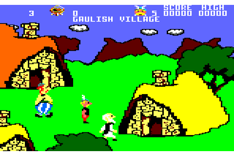 Asterix and the Magic Cauldron (1987) by Sarl Chip Amstrad ...