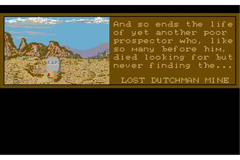 Lost Dutchman Mine Download (1989 Action adventure Game)