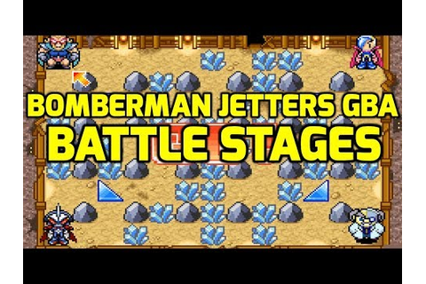 Bomberman Jetters Game Collection (GBA) - All Battle ...