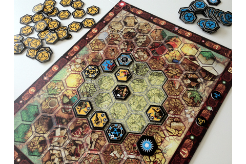 Six-sided Warfare: A Neuroshima Hex Review | Polyhedron ...