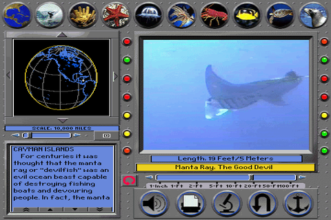 Undersea Adventure Screenshots for DOS - MobyGames