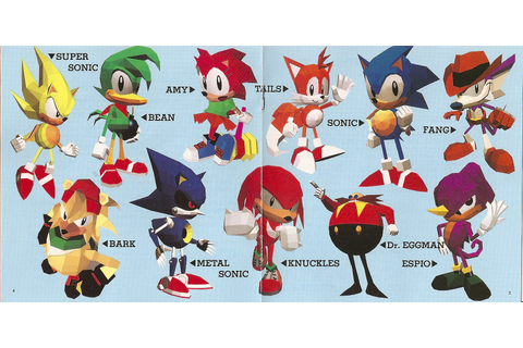 Sonic the Fighters Sound Tracks. Soundtrack from Sonic the ...