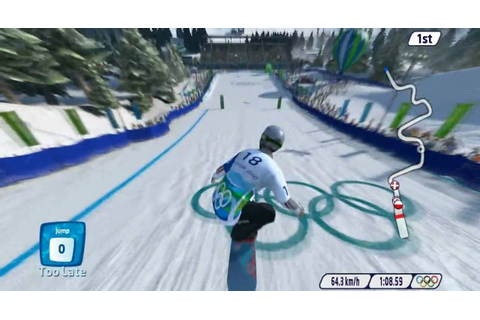 Vancouver 2010: The Official Video Game of The Olympic ...