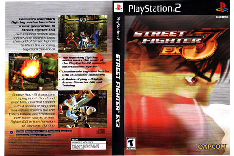 Street Fighter EX3 (USA) ISO