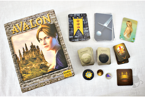 The Resistance: Avalon Board Game Review — Gray Cat Games