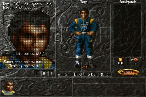 Download Albion rpg for DOS (1996) - Abandonware DOS