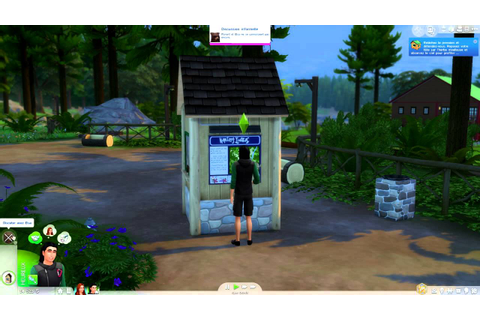Test Les Sims 4 - Pack Destination Nature - YouTube