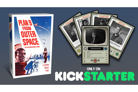 Plan 9 from Outer Space: The Deckbuilding Game by Grim ...