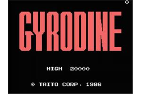 Gyrodine - MSX - Games Database