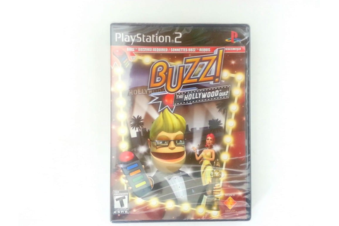 Buzz!: The Hollywood Quiz game for Sony Playstation 2 PS2 ...