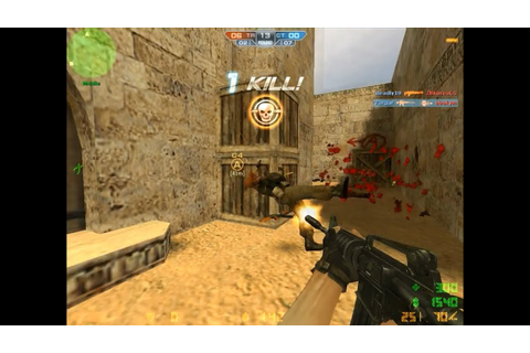 CSN:Z Counter-terrorist game play and head-shots! - YouTube
