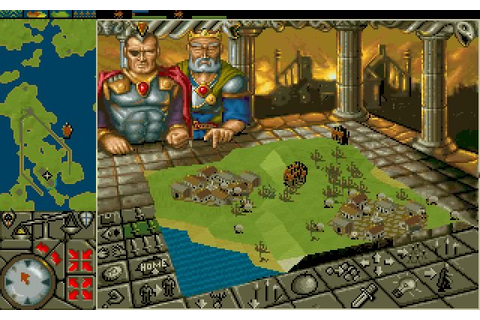 Download Powermonger strategy for DOS (1992) - Abandonware DOS