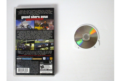 Grand Theft Auto Liberty City Stories game for PSP | The ...
