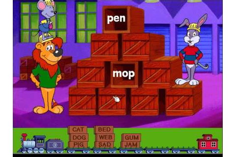 Reader Rabbit's Reading 1: Matchup Game, Level 3 - YouTube