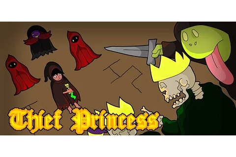 Help a beleaguered princess steal her way out of trouble ...