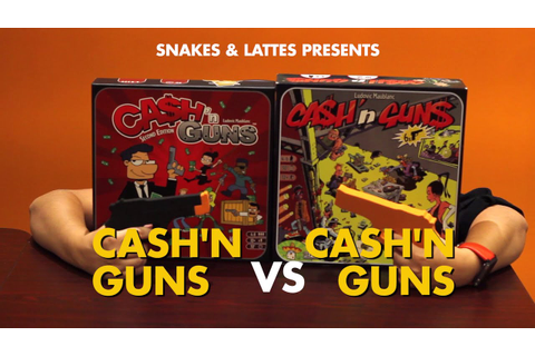 Cash'N Guns VS Cash'N Guns - YouTube