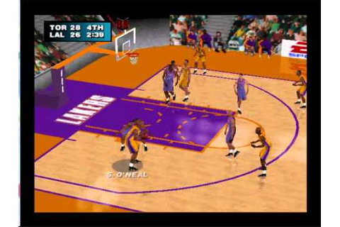 NBA Live 2000: Raptors vs Lakers Game 1 #2 - YouTube