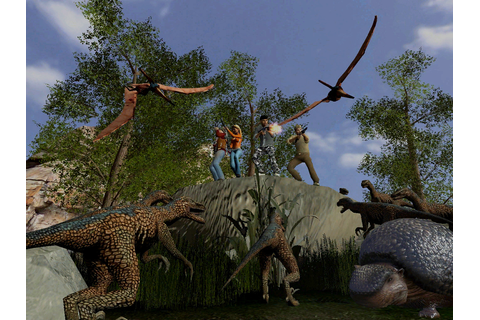 The DinoHunters - Free Multiplayer Online Games